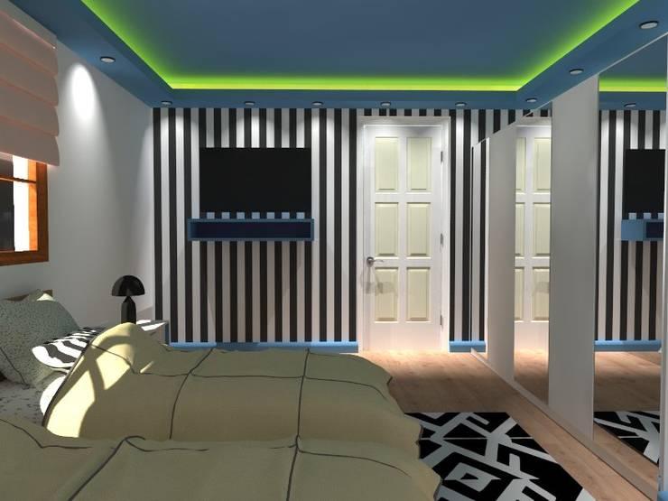 kübra meltem doğan – SAKLIBAHÇE VİLLA 2:  tarz Küçük Yatak Odası