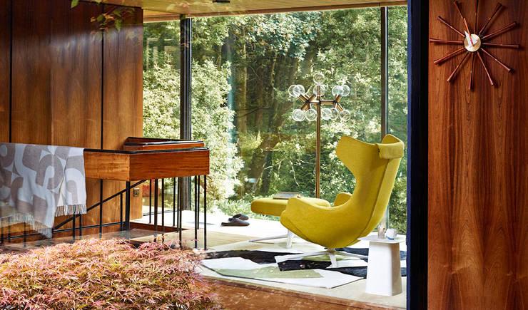 VITRA家具:瑞士品質,經典美感工藝 :  客廳 by 北京恒邦信大国际贸易有限公司