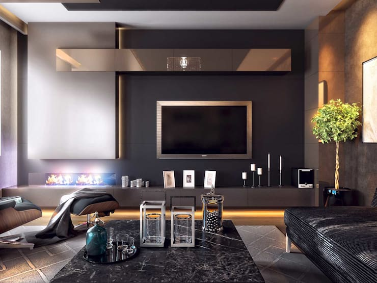 Living room by ANTE MİMARLIK