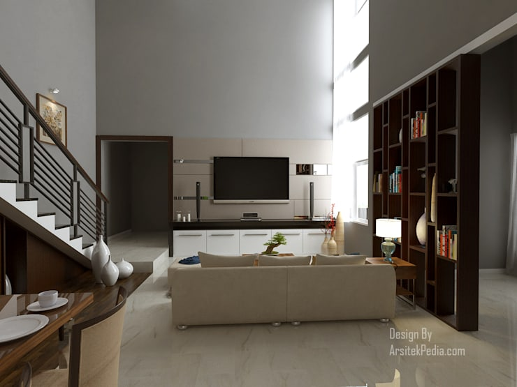 Modern living room by Arsitekpedia Modern