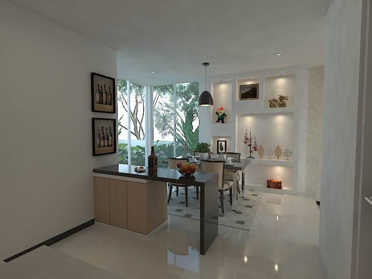 Interior Wahid Hasim Semarang:  Ruang Makan by Arsitekpedia