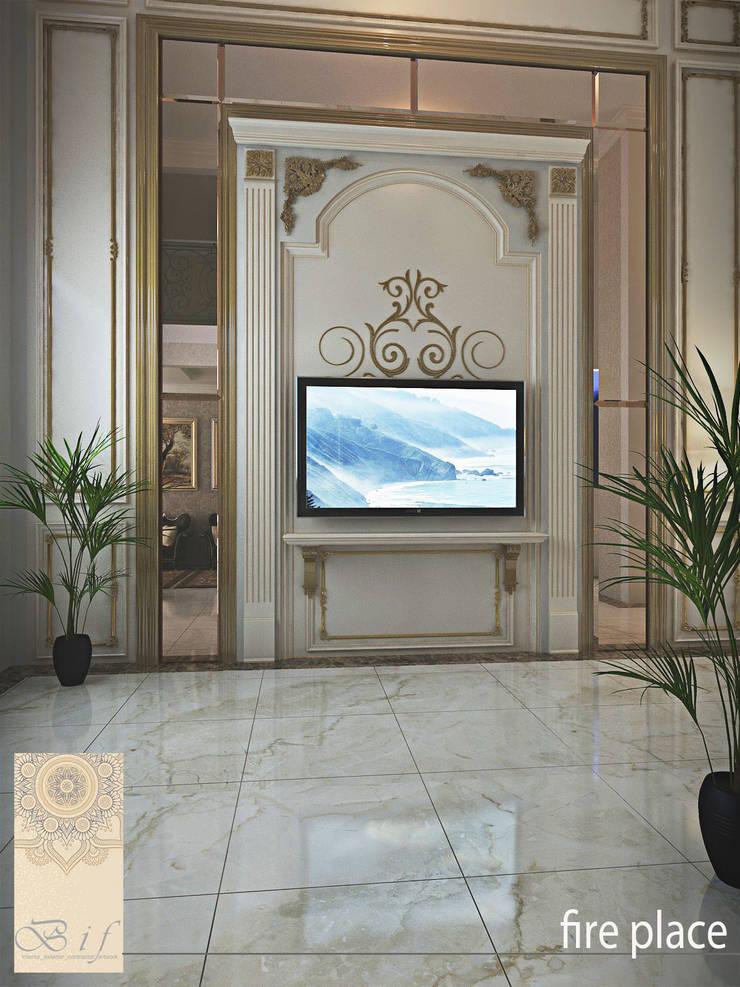 Rumah Tinggal Gandaria:  Living room by Studio Ardhyaksa
