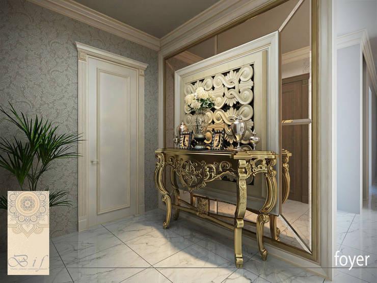 Rumah Tinggal Gandaria:  pintu depan by Studio Ardhyaksa