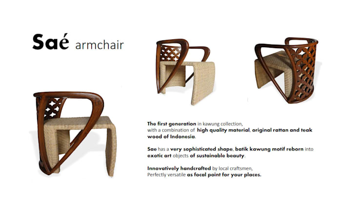 Saé Armchair:  Household by Sweden studio