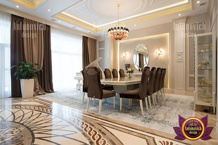 Beautiful and Dazzling Interior Design:   by Luxury Antonovich Design