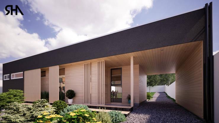 Acceso:  de estilo  por RHA Arquitectura + Construcción