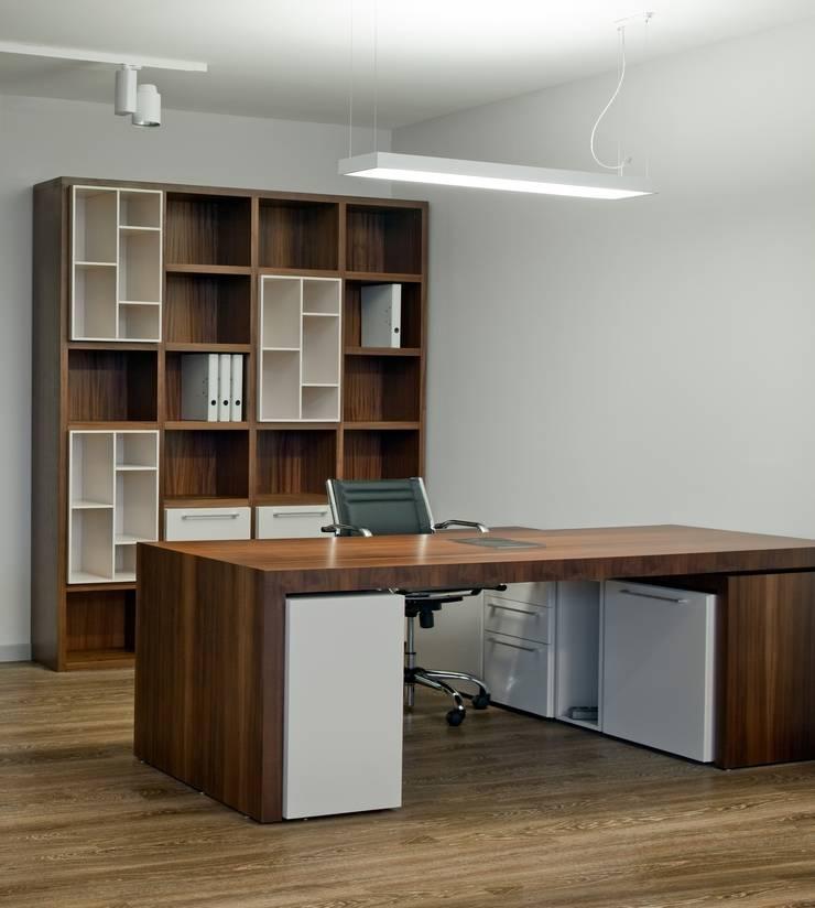 ESCRITORIOS DE OFICINA: Oficinas de estilo  por MARSHEL DUART SRL
