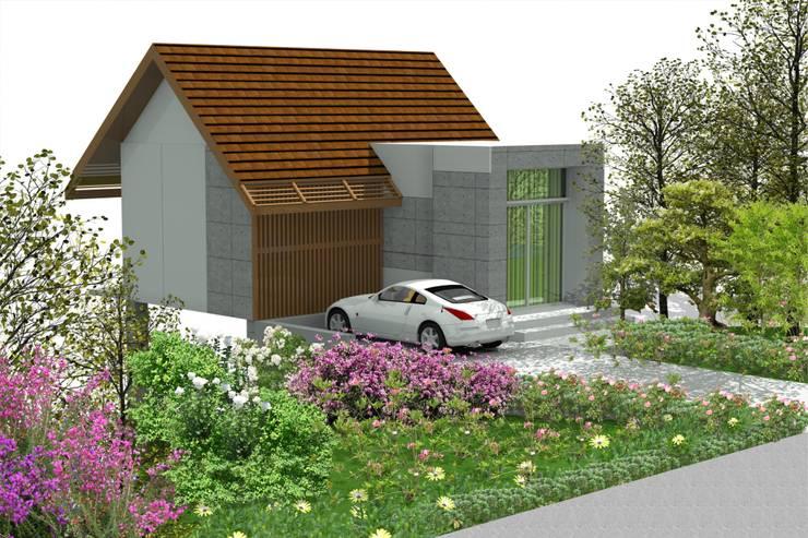 บ้านจำลอง 3D :  บ้านและที่อยู่อาศัย by บริษัท พี นัมเบอร์วัน คอนสตรัคชั่น จำกัด