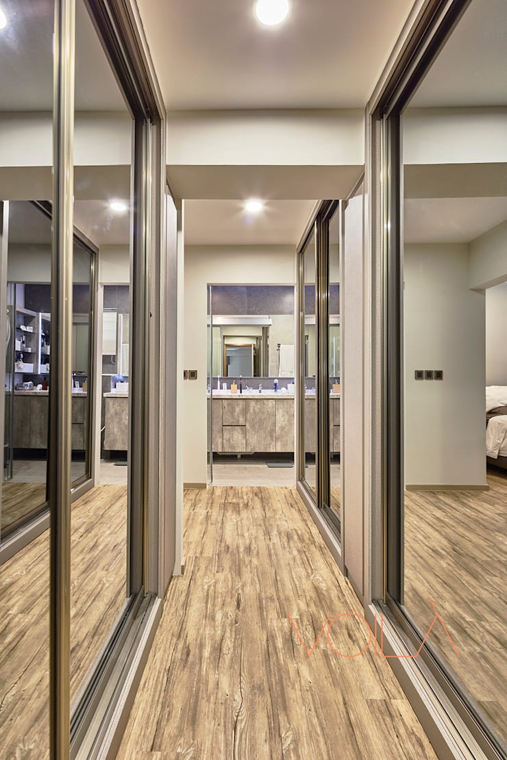 255 Bishan:  Bedroom by VOILÀ Pte Ltd