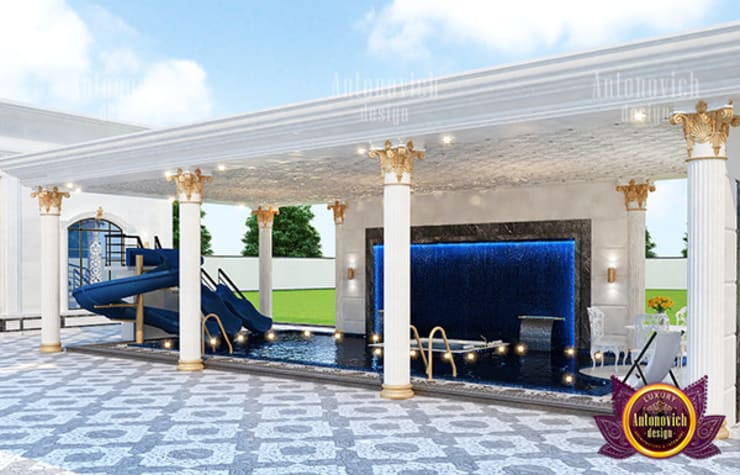 Awesome Swimming Pool Design:   by Luxury Antonovich Design