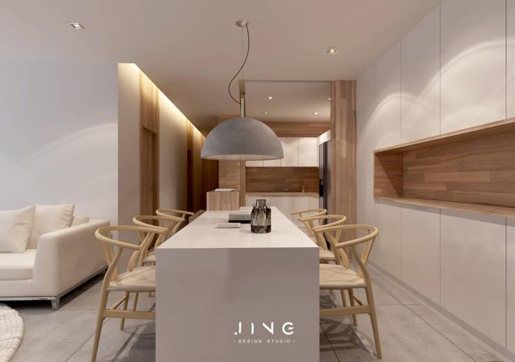 Kaohsiung 施宅:  餐廳 by 景寓空間設計