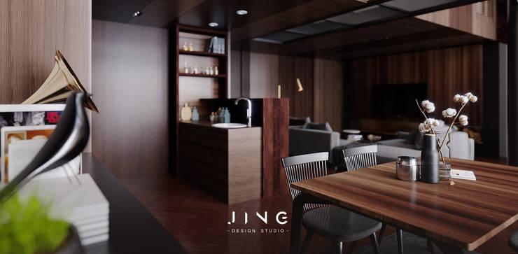 Pingtung City -蔡宅:  餐廳 by 景寓空間設計