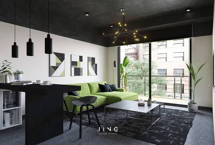 Living room by 景寓空間設計, Modern
