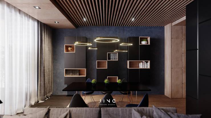 Kaohsiung 陳宅:  餐廳 by 景寓空間設計