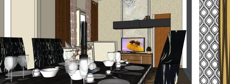 Ruang makan:   by Koloni Tri Arsitama