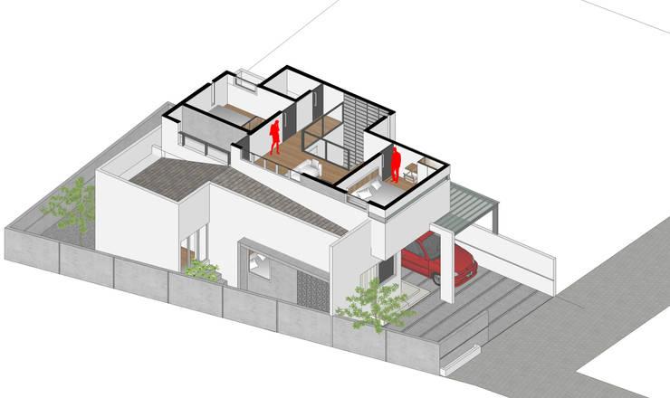 Isometri Denah Lantai 2:   by Tigha Atelier