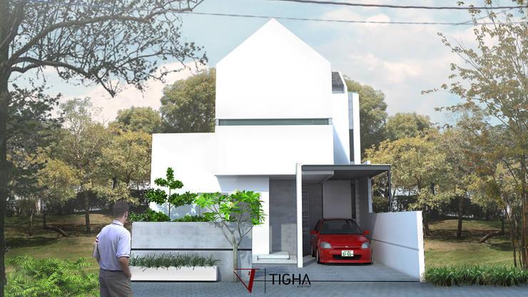 Tampak Depan AN. House:   by Tigha Atelier