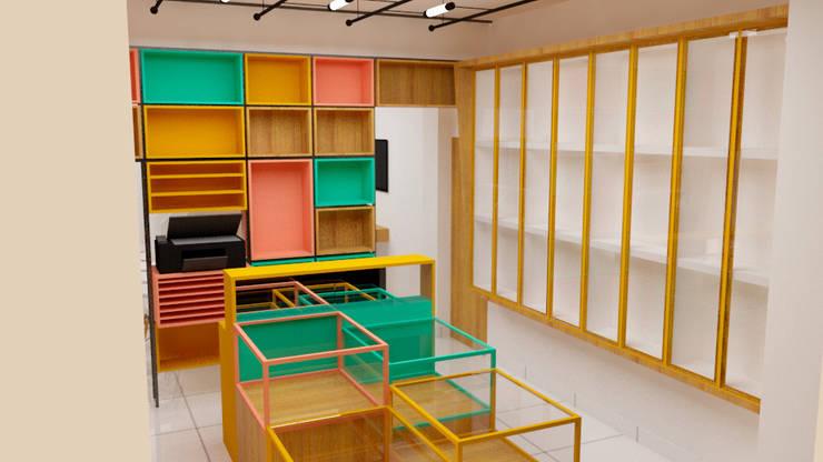 Librería: Oficinas de estilo  por DIS.OLIVER QUIJANO