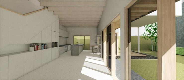 거실: 건축사사무소 모뉴멘타의  거실,모던 우드 우드 그레인