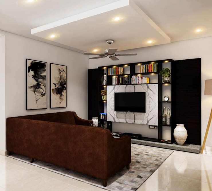 Living room by Gapoon Online Consumer Services Pvt. Ltd.