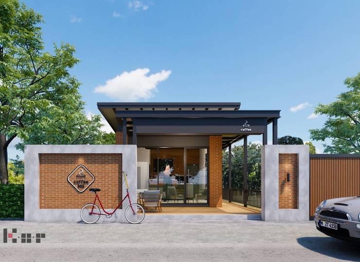 Coffee shop จ.ลำปาง :  บ้านขนาดเล็ก by Kor Design&Architecture