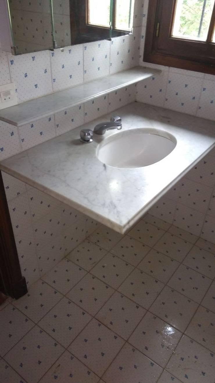 baño ppal -  antes:  de estilo  por MSBergna.com