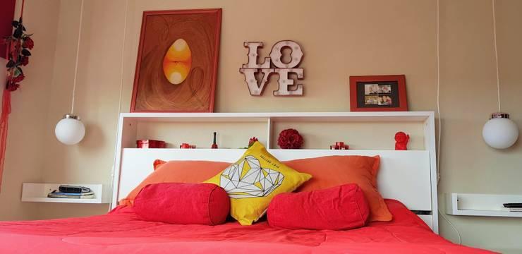 Deco Dormitorio S&D - Pinamar 2017: Dormitorios de estilo  por MSBergna.com