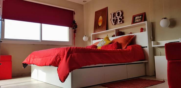 Deco Dormitorio S&D – Pinamar 2017: Dormitorios de estilo  por MSBergna.com