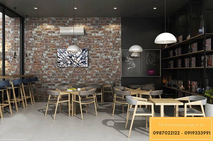 KTS. LÊ THANH KỲ:  Văn phòng & cửa hàng by Thiết kế xây dựng Pro