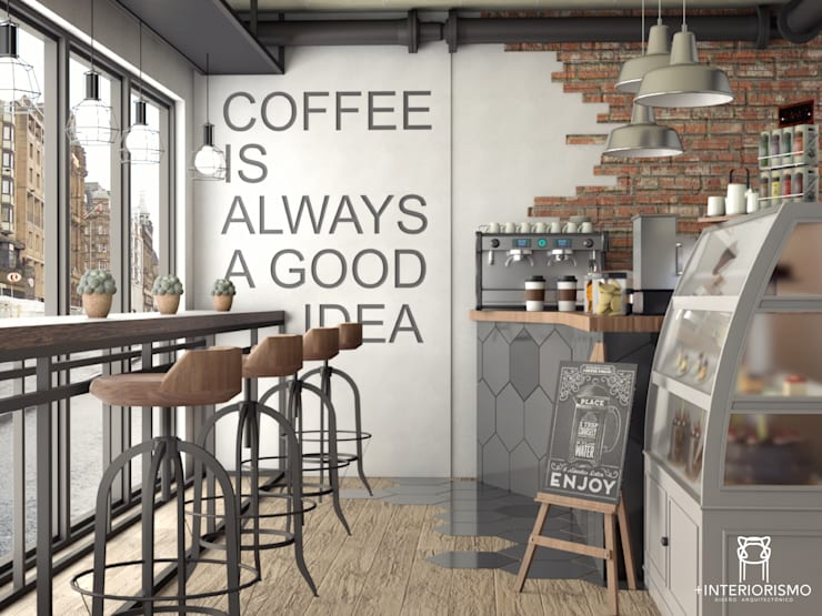 Coffee is always a good idea!: Cocinas de estilo  por Más Interorismo