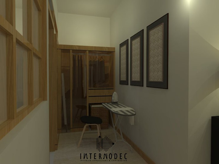 Closets  por Internodec