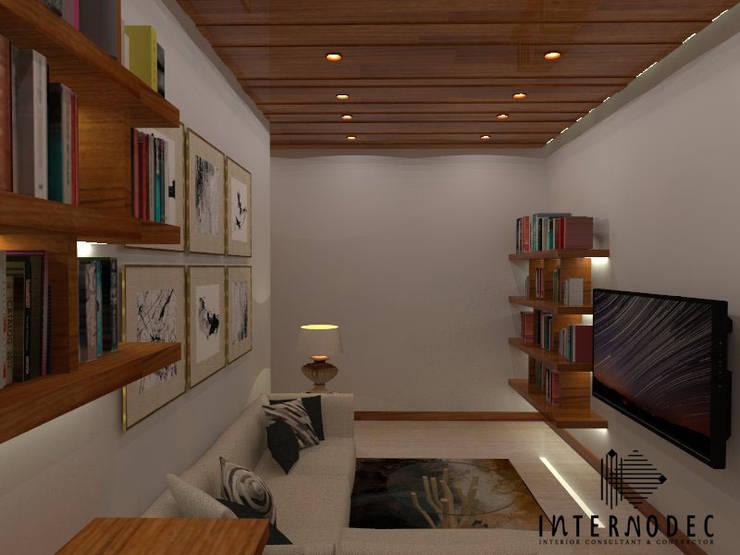Ruang Baca:  Ruang Keluarga by Internodec
