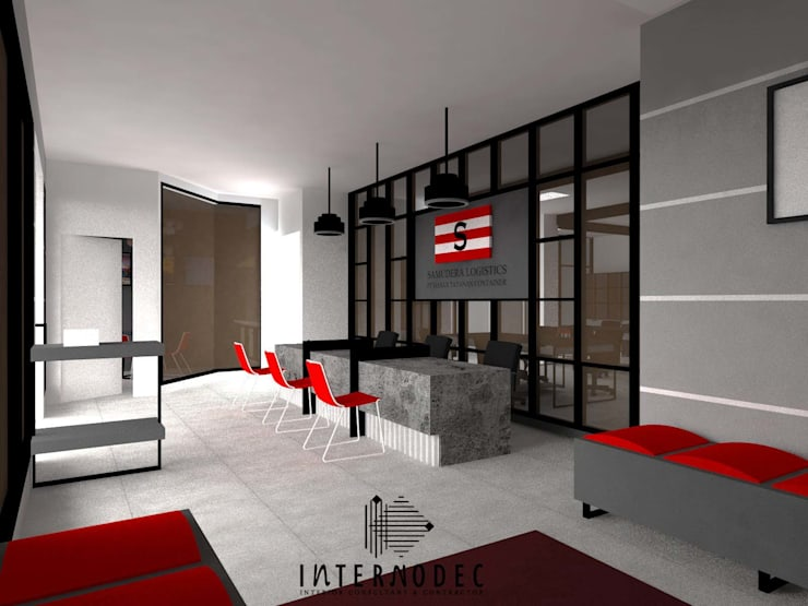 Office PT. MTC:  Kantor & toko by Internodec