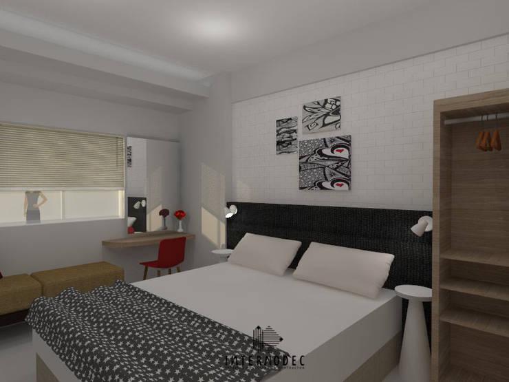 Kamar Utama :  Kamar Tidur by Internodec