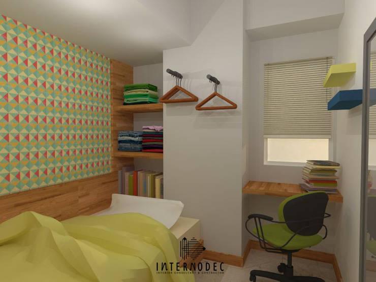 Kamar Anak:  Kamar tidur anak by Internodec