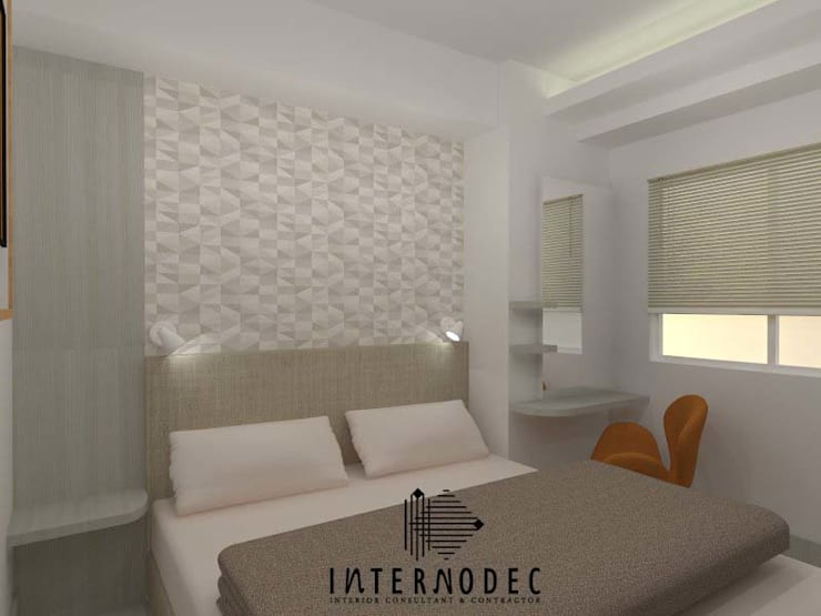 Kamar Anak 1:  Kamar tidur anak by Internodec
