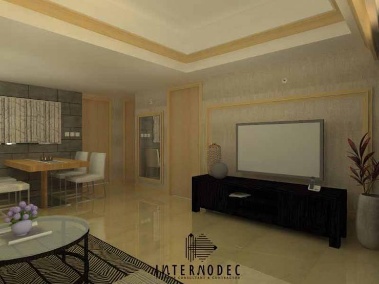 Apartemen MR. DS:  Ruang Keluarga by Internodec