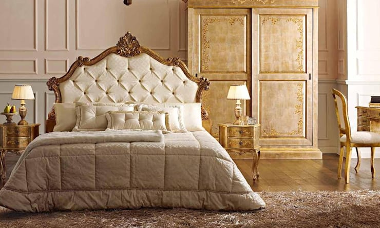 ANDREA FANFANI家具:意大利欧式设计,高品质古典品牌:  臥室 by 北京恒邦信大国际贸易有限公司