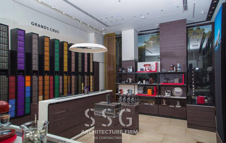 Nespresso Zamalek:  محلات تجارية تنفيذ SSG Contracting LLC