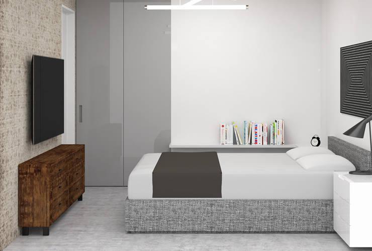 Slaapkamer door ezgi yüce mimarlik aş.