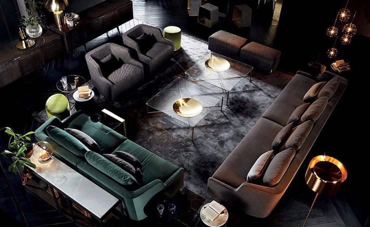GALLOTTI&RADICE家具:高档品质玻璃家具,现代家具品牌:  客廳 by 北京恒邦信大国际贸易有限公司