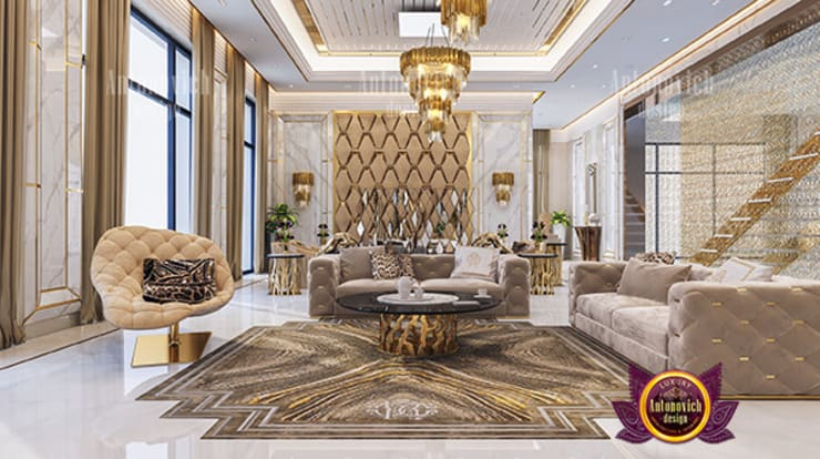 Magnificent Interior Design:   by Luxury Antonovich Design