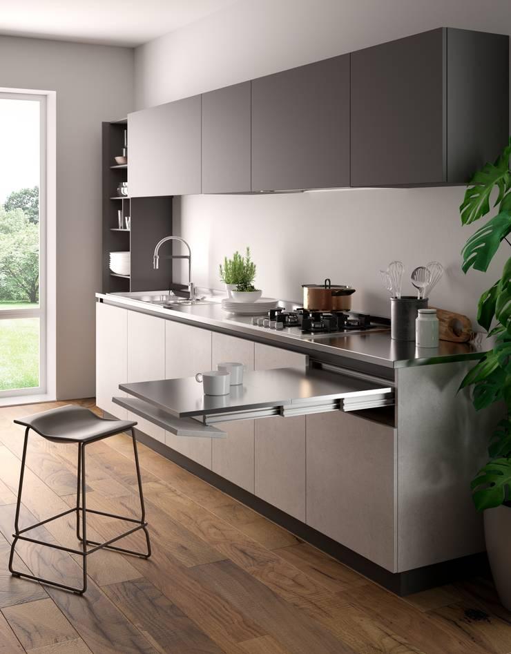 ZIP: Cucina in stile  di Atim Spa,