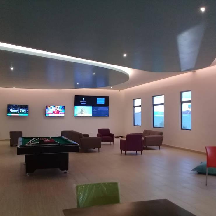 Ecoles modernes par SG Huerta Arquitecto Cancun Moderne Céramique
