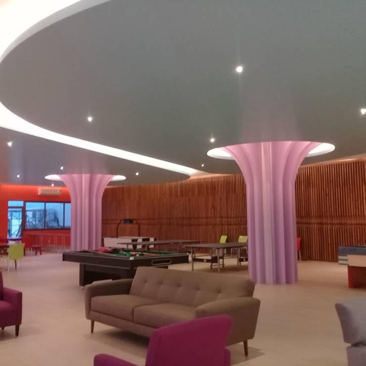 Ecoles modernes par SG Huerta Arquitecto Cancun Moderne Verre