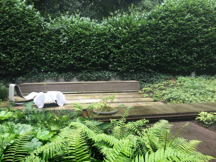 Forest garden  –  The long floating line..:  Garden by Andredw van Egmond  |  designing garden and landscape