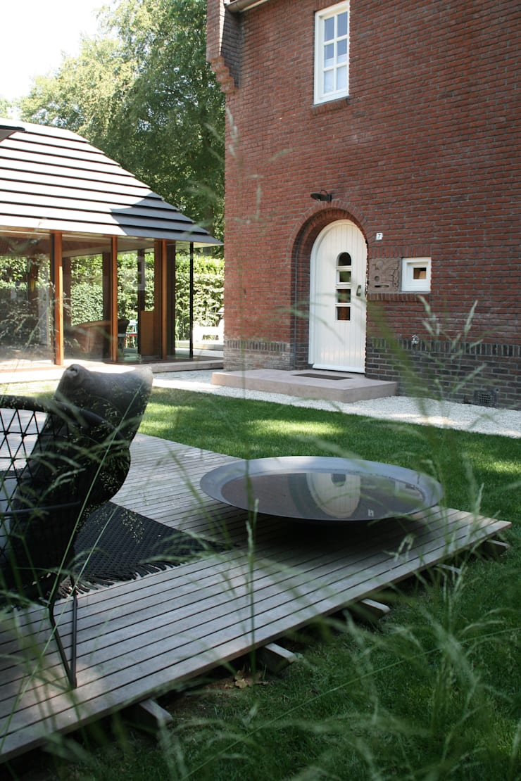 ​Classical feel:  Garden by Andredw van Egmond  |  designing garden and landscape
