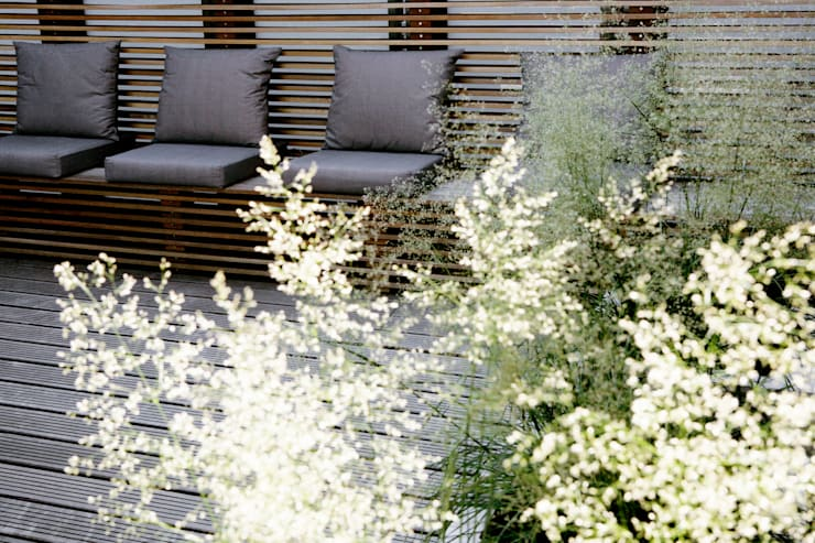 ​Patio garden:  Gym by Andredw van Egmond  |  designing garden and landscape