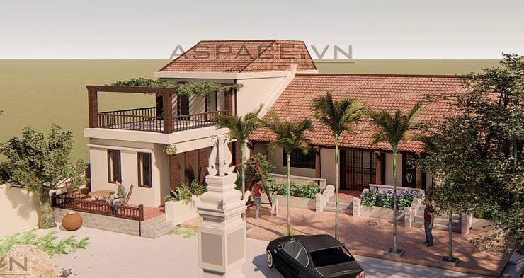 Biệt thự vườn kết hợp nhà thờ ở quận trung tâm Hà Nội :   by Kiến trúc ASPACE