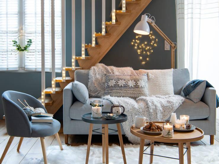 Salas/Recibidores de estilo  por MAISONS DU MONDE compra de muebles y accesorios para el hogar online